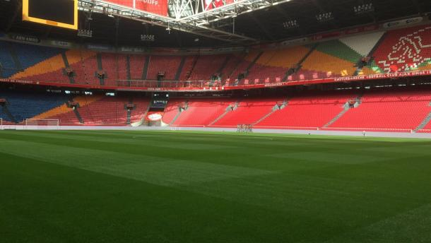 Panoramica dell'Amsterdam ArenA. | Fonte: twitter.com/seegrowD