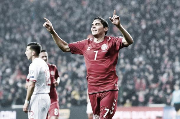 Foto: Reprodução / Seleção Dinamarquesa de Futebol