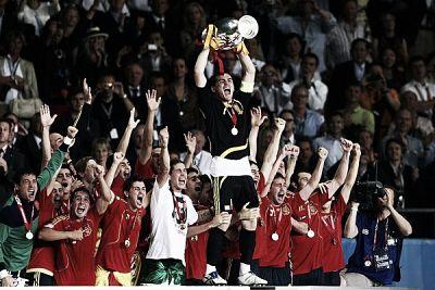 España campeona de la Euro 2008 / Fuente: VAVEL