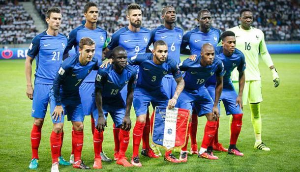 En la fotografía, los jugadores de la Selección francesa / Fuente: Selección de Francia