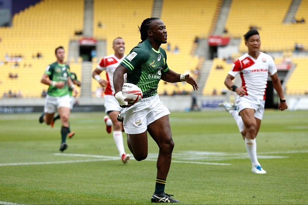 Seabelo Senatla is now up to 180 Sevens Series tries for South Africa (image source: Ragahouse.com)