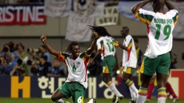 Senegal celebra su victoria ante Francia | Imagen: FIFA