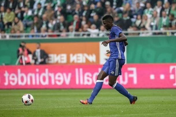 Djilobodji first only apperance for Chelsea | photo: en.francais-express.com