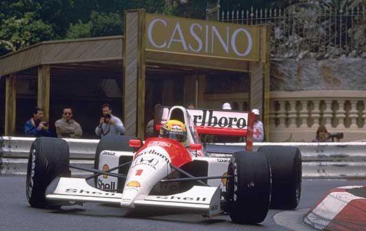 Ayrton Senna en Mónaco I Foto: jpandmodger.wordpress.com