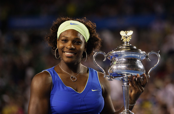 Williams' tenth Grand Slam singles title was at the Australian Open in 2009 (Photo by Mark Dadswell / Getty Images)