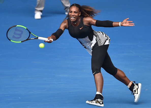 Williams committed over 40 unforced errors (Photo by William West / Getty Images)