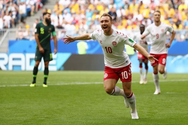 Eriksen quiere ser protagonista en Dinamarca / Foto: FIFA.com