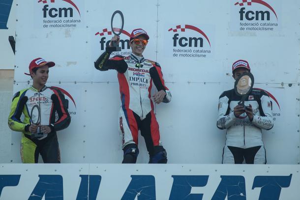 Copa Honda CBR 250R, sexta prueba, año 2013. Foto: Óscar Gutiérrez.