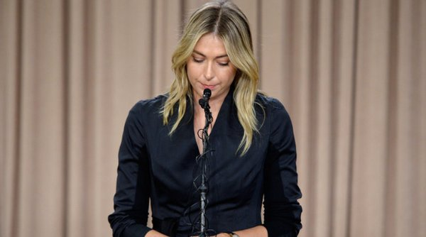 Maria Sharapova has yet to play tennis following her announcement (Source: Sky Sports Tennis)
