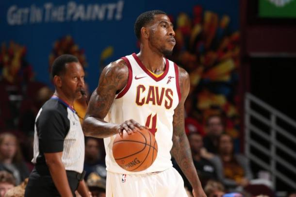 Shumpert joins Isaiah Thomas and Derrick Rose as the injured Cleveland guards. Photo: Gary Dineen/Getty Images.