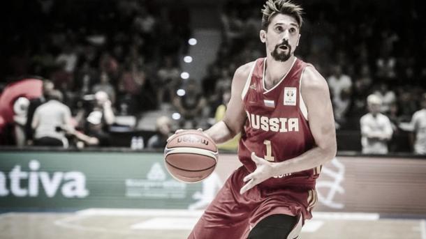 Shved fue la gran figura de los rusos en las ventanas clasificatorias y el EuroBasket 2017. Foto: Gigantes del Basket.