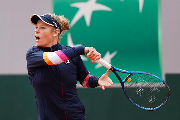 Laura Siegemund beat Spain's Paula Badosa to earn her quarter-final place (Clive Brunskill/Getty Images)