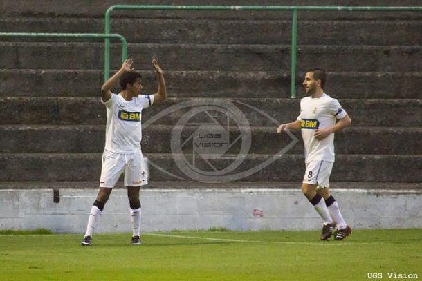 Gol en Las Llanas con el Real Unión (FOTO UGS Visión)