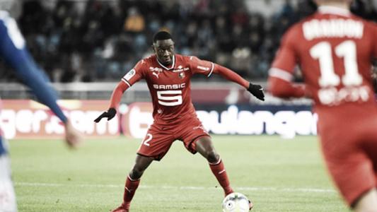 Siliki, del Rennes, durante la temporada // Foto: Rennes