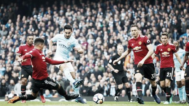 Gundogan convirtió un gran gol   Foto: Premier League