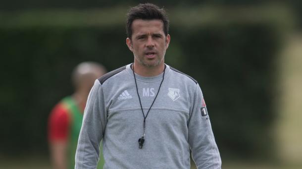 Silva prepara a su equipo de cara a una dura temporada | Foto: Watford.