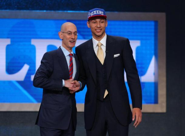 After the 76ers selecting Ben Simmons with the No.1 overall pick in last year's draft, Sully believes the 76ers will once again get the first overall pick. Photo: Brad Penner /USA-TODAY Sports