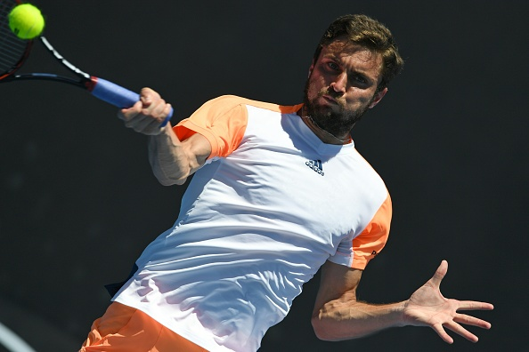 The Frenchman will pose a difficult threat to Raonic's title credentials (Photo by Greg Wood / Getty Images)