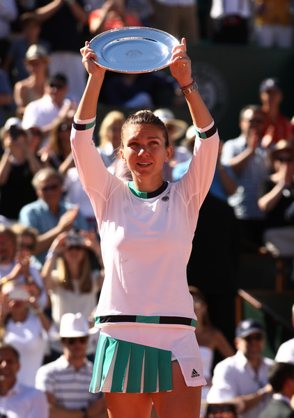 Halep was unable to claim her first Grand Slam singles title at the French Open (Photo by Julian Finney / Getty)