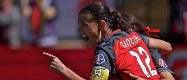 Christine Sinclair | Photo: Portland Timbers FC: timbers.com