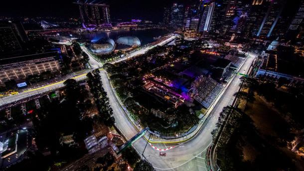 Singapur. Foto: F1