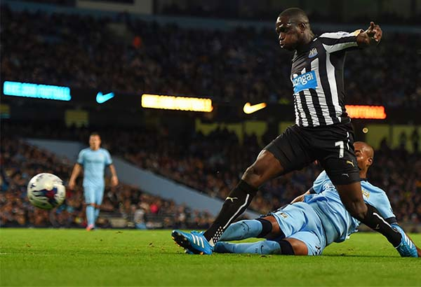 Sissoko in action for Newcastle (photo: Getty Images)