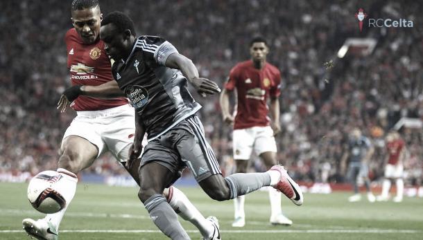 Pione en las semifinales de UEL frente al Man Utd. | Foto: RC Celta.