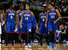 Los Sixers de las 10 vcitorias. Foto: NBA.com