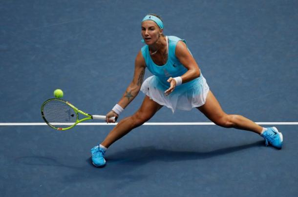 Kuznetsova raced into a 4-0 lead at the start (Photo by Andy Lyons/Getty Images)