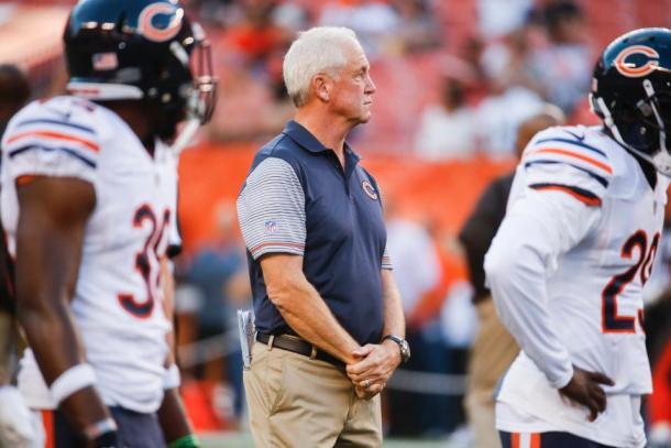 John Fox tentará liderar os Bears por uma vaga nos playoffs | Foto: Divulgação/Chicago Bears