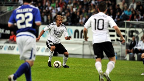Skjebred played over 150 times in his native Norway for Rosenborg (Source: RBKmedia)