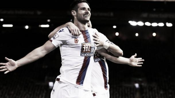 Defender Scott Dann scored the winner in the 2-1 victory. Photo: Sky Sports