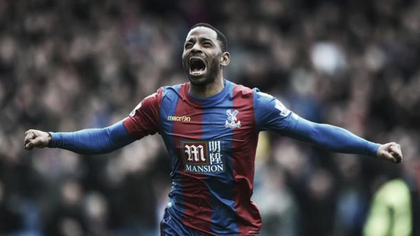 Puncheon passionatly celebrating his winner on Saturday