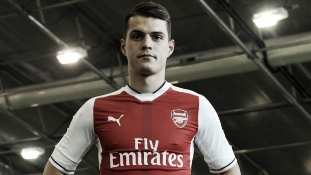 Xhaka became Arsenal's third most expensive signing, after Mesut Ozil and Alexis Sanchez. Photo: skysports.com