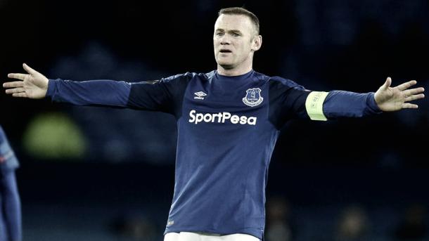 Rooney no tuvo su mejor noche. Foto: Getty Images.