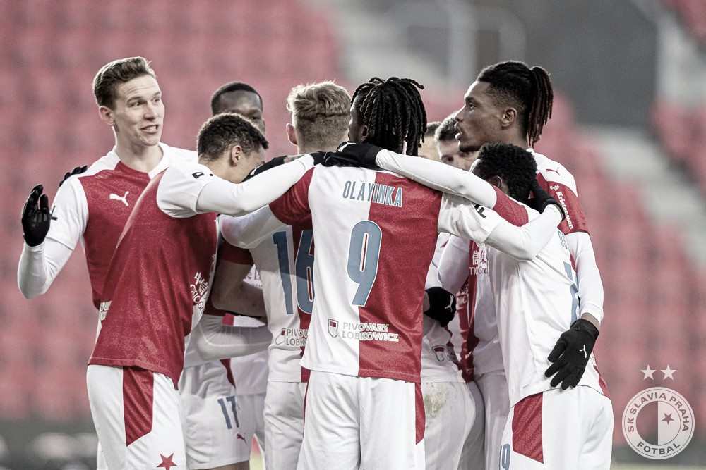 El Slavia de Praga siempre un equipo incómodo en la Europa League./ Foto: Slavia Praga