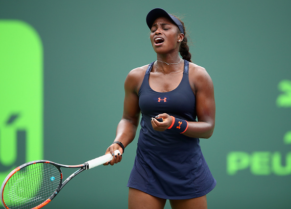 Sloane Stephens Was Visibly Frustrated During The Match. Photo: Clive Brunskill/Getty Images