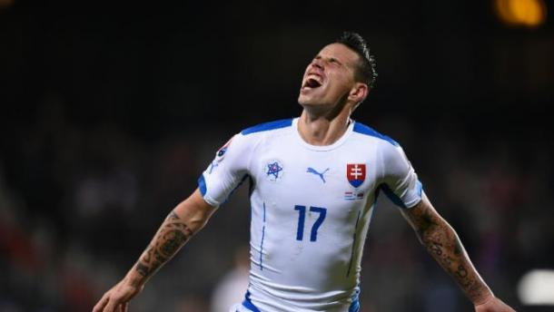Slovakia's 4-2 win against Luxembourg secured their qualification for Euro 2016. Source: Yahoo Sports