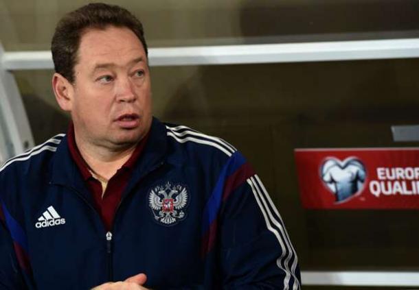 Leonid Slutsky succeeded Fabio Capello as Russia's manager in 2015.Source: Goal