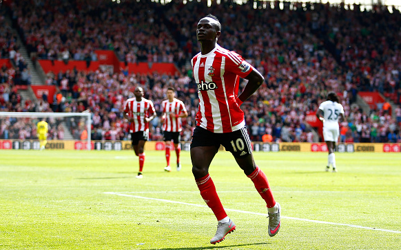 Southampton have continued to improve over time with Mané acclimatising to life in England well, with Liverpool interested in a £30m swoop. (Photo: Getty Images)