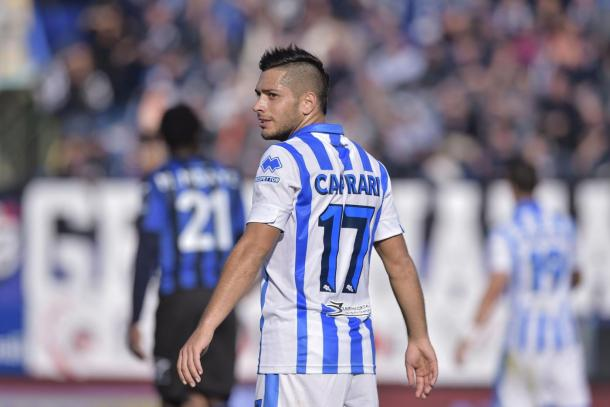 Caprari looks on | Photo: calcioweb.eu