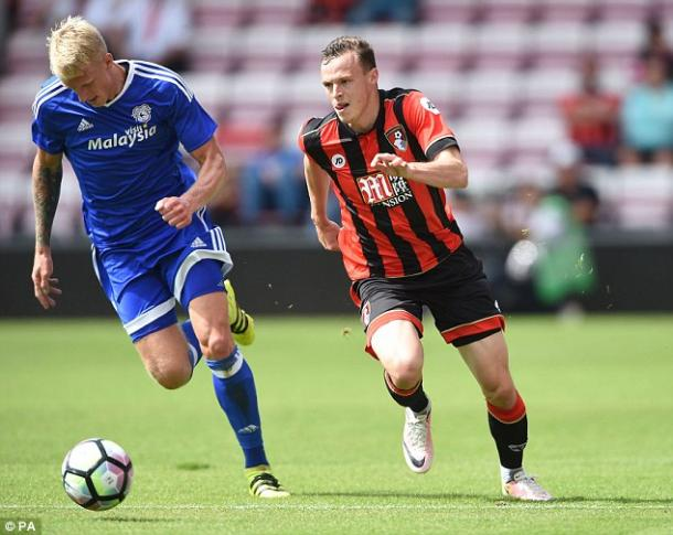 Smith in action for the Cherries (photo: PA)