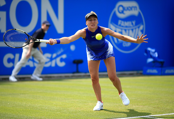 Smitkova was no match for her compatriot (Photo by Ben Hoskins / Getty)