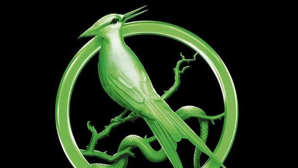 Símbolo del Sinsajo del nuevo libro. / Fuente: Twitter Editorial Molino