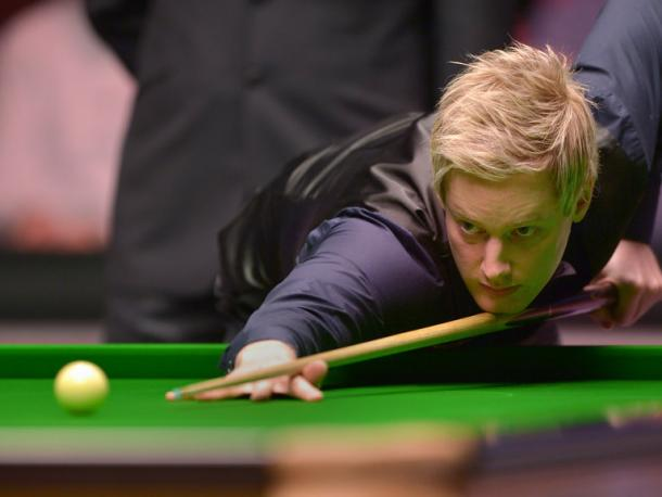 Neil Robertson was eliminated at the first hurdle. | Photo: Sporting Life