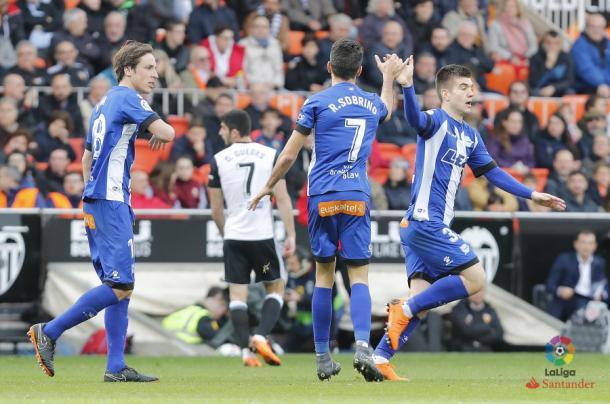 Sobrino llevó esperanzas a su equipo  |  Fotografía: La Liga