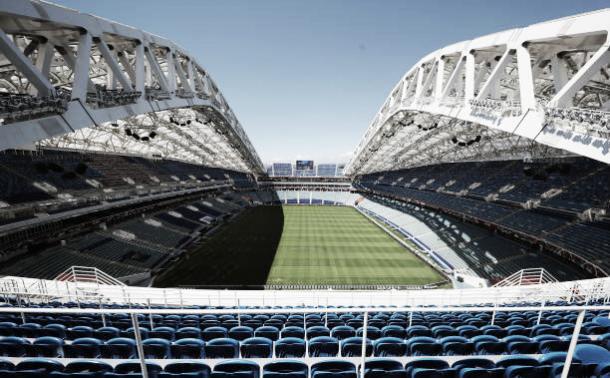 Vista aérea do Fisht Olympic Stadium (Fonte:Getty Images)