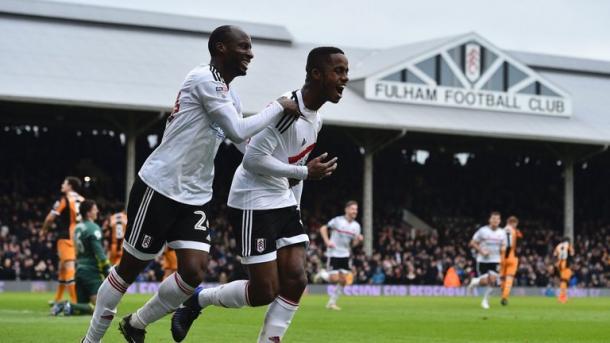 Sessegnon celebrando un gol para el Fulham. Foto: FA Cup