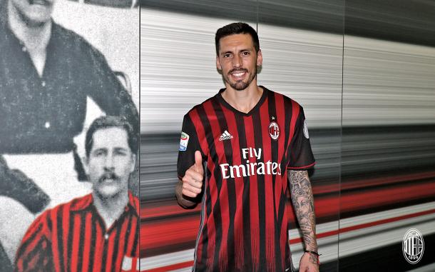 Sosa, a mais recente contratação do Milan