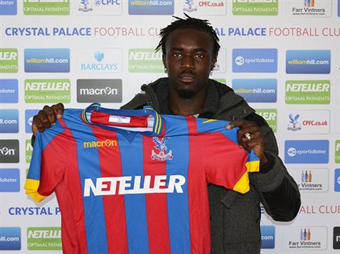 The defender signed for the club in 2015 | Photo: Crystal Palace Football Club